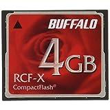 BUFFALO コンパクトフラッシュ4GB RCF-X4G