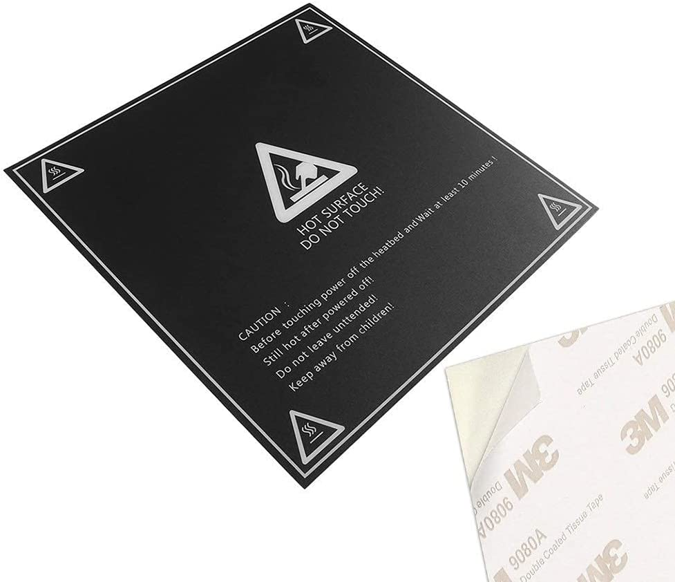 JRUIAN Printer Accessories Frosted Heated Printing Bed B Sticker Super sale Recommended period limited