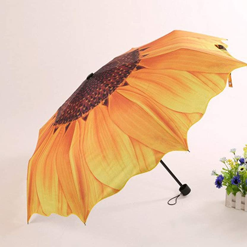 オフェンスゲーム発揮するDCCRBR 傘傘滑り止めハンドルを持ち運びしやすく防風フレーム黄色22インチを強化 防水傘