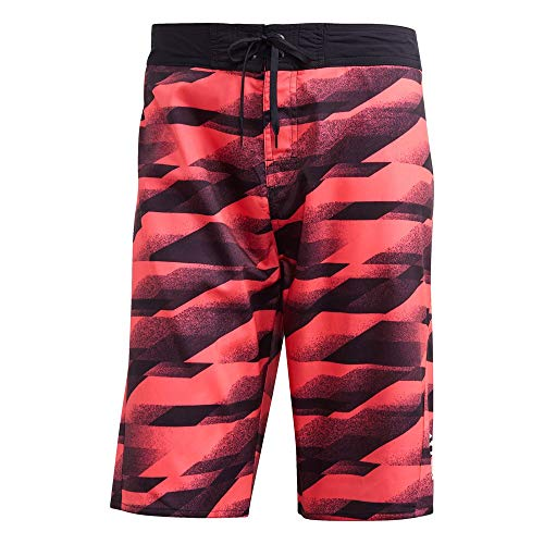 Adidas OLY3 Tech SH KL Zwembroek, heren, rood, 29 inch