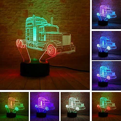 Relovsk Transformers Action Figuur gemengde kleuren 3D LED RGB nachtlampje USB Touch Wooncultuur kinderen jongens cadeau