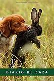 DIARIO DE CAZA: Registra todos los detalles : lugar, fecha, climatología, piezas abatidas: conejo, liebre, faisán, codorniz, paloma, perdiz roja.. | Regalo especial para amantes de la caza menor.