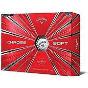 Callaway Golf Chrome Soft Golf Balls, (One Dozen), Prior Generation