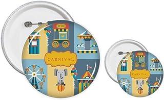 Incroyable kit de création de badges et de boutons amusants pour le parc