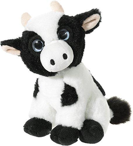 Heunec 273870 Mini-MI - Vaca de Peluche, Color Blanco