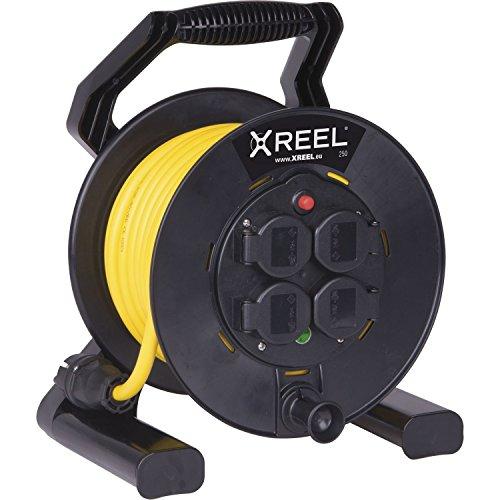 Xreel 310 Kabeltrommel | Kabelbox | Kabellänge: 50 M | outdoor | Außenbereich | IP54 | mit Schutzkappen, 1 Stück, 9350161-P