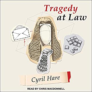 Tragedy at Law audiobook cover art