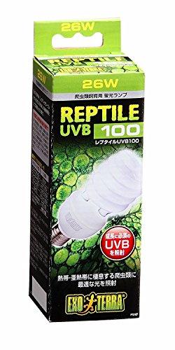 ジェックス エキゾテラ レプタイルUVB100 26W 熱帯・亜熱帯 爬虫類用 紫外線ライト