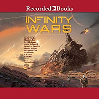Infinity Wars audiobook cover art