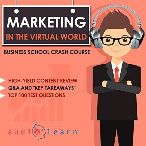 Marketing in the Virtual World audiobook cover art