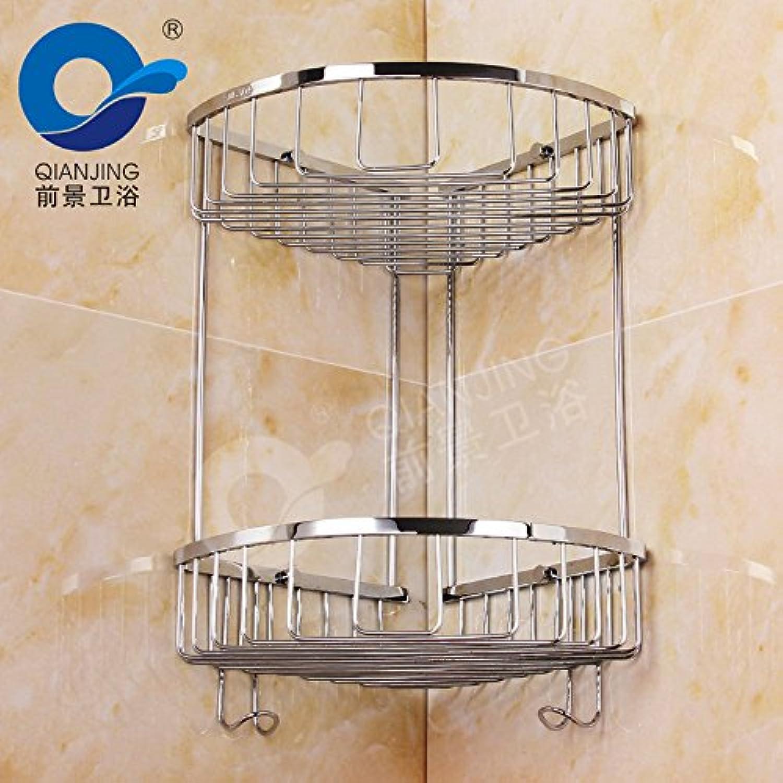 304 racks kitchen bathroom racks anti-rust stainless steel bathroom shelves 220220400mm