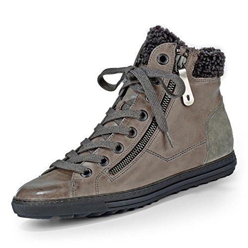 Paul Green | High Top Sneaker | gefüttert - grau | stone, Farbe:grau;Größe:37.5