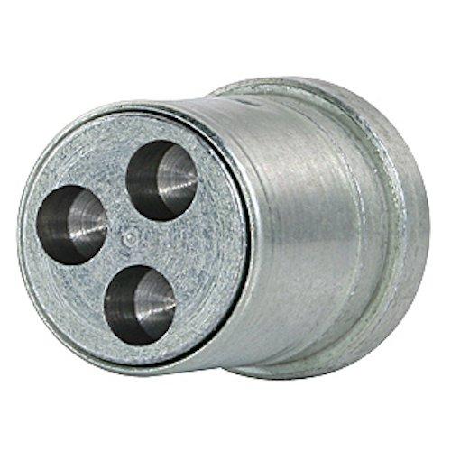 Farad 1-RA SB 1CH.SP Sistema antirrobo para ruedas con fijación mediante tornillos, set de 4 tornillos y 1 llave