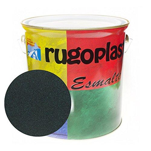 Pintura esmalte sintético de alta calidad ideal para pintar hierros, rejas, portones, puertas, ventanas, madera... Brillante / Satinado / Mate / Forja / Aluminio Plata / Metalizado Varios Colores (0,750Ml, Óxido Verde Carruaje Forja) Envío GRATIS 24 h.