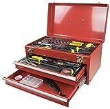 Kinzo 871125203413 Werkzeugkoffer, rot, 43 x 24 x 23 cm
