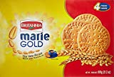 Britannia Marie Gold Tea Time Biscuits Value Pack of 600g. (Stay Fresh Pack 4x150g for a total of 600 Grams)