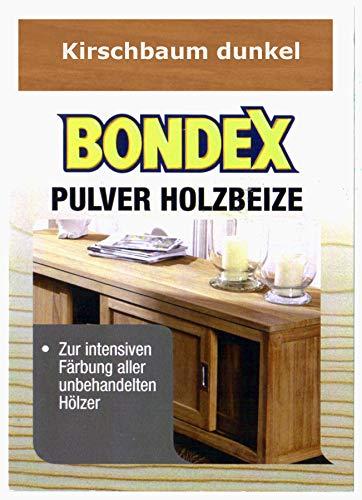 Bondex Holzbeize Pulverbeize Beutelbeize Beize auf Wasserbasis für Möbel 5er Pack - kirschbaum dunkel
