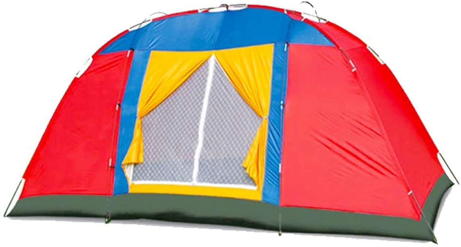 Outdoor Camping Dome Tent 8 People Ultra Light Portable Sunscreen Waterproof Camping Tourism Beach Holiday Picnic Park Lawn