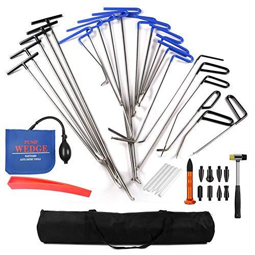 XNBCD PDR gereedschap deuken reparatie pomp wig rubber hamer tip pen hagel verwijdering haak putter handpak
