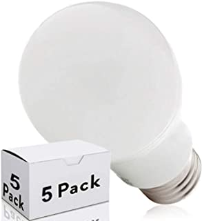 Greenice   Pack 5 Bombilla LED E27 Esférica Aluminio/Pc 9W 810Lm 30.000H   Blanco Natural