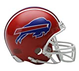 Buffalo Bills 1987-2001 Throwback Riddell Mini Football Helmet - New in Riddell Box