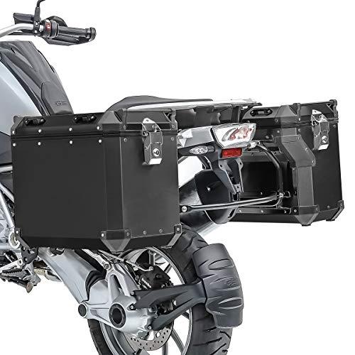 Set Alu Koffer für BMW R 1200 GS Exclusive 17-18 + Kofferträger ADX90B