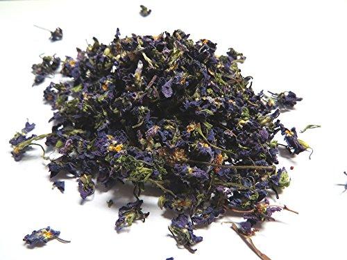 10g Veilchenblüten - getrocknet - Violet -