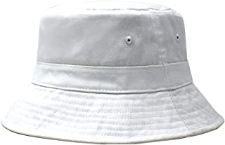 Cotton Bucket Hats (Unisex) Wide Brim Outdoor Summer Cap | Hiking, Beach, Sports