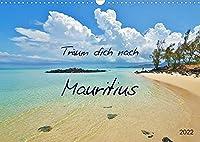 Traeum dich nach Mauritius (Wandkalender 2022 DIN A3 quer): Traumstraende und Naturschaetze (Monatskalender, 14 Seiten )