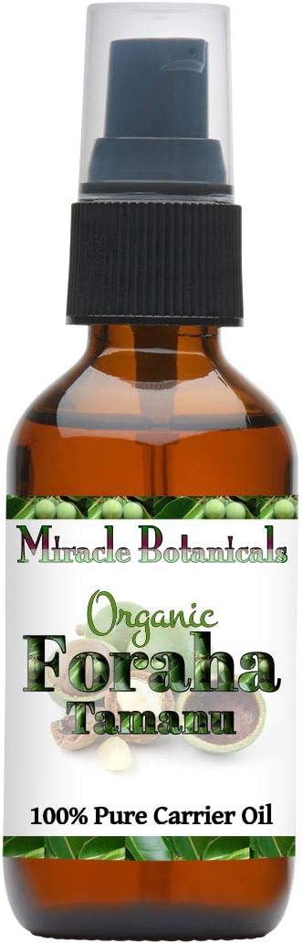 Amazon Com Miracle Botanicals Organic Tamanu Oil Foraha 100 Pure Calophyllum Inophyllum Therapeutic Grade 2oz Health Personal Care