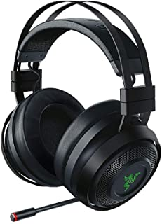 Razer Nari Ultimate Wireless 7.1 Surround Sound Gaming Headset: THX Audio & Haptic Feedback - Auto-Adjust Headband - Chroma RGB - Retractable Mic - For PC, PS4, Xbox One (Renewed)