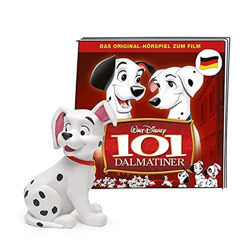 tonies Hörfiguren für Toniebox, Disney – 101 Dalmatiner, Hörspiel für Kinder ab 4 Jahren, Spielzeit ca. 56 Minuten