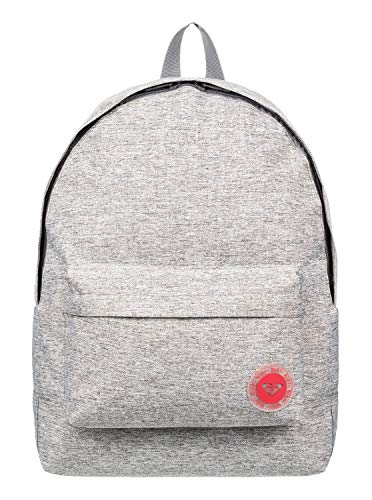 ROXY Women's Sugar Baby Solid Backpack, Grey (Heritage Heather), 41 centimeters