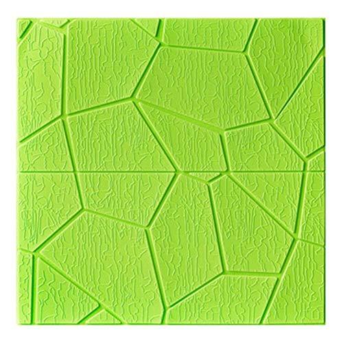 XJLG 3D behang muur papier PE schuim waterdicht 3D wandpaneel sticker DIY muur tegel sticker zelfklevend behang decoratieve zachte paneel achtergrond baksteen behang