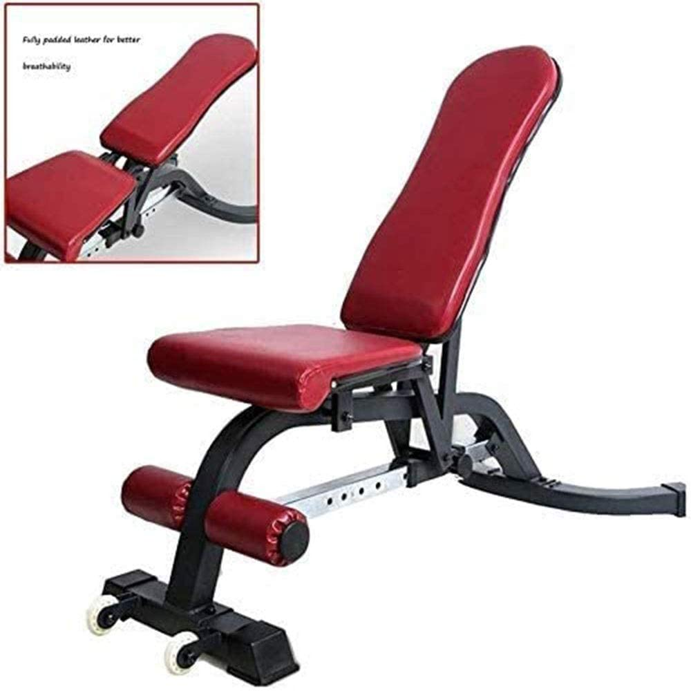 DSWHM Safety Comfortable Adjustable Weight SEAL limited product Bench 4 years warranty Full Body Worko
