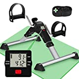 TABEKE Under Desk Bike Pedal Exerciser - Pedal Exerciser for Arm/Leg Workout, Portable Desk Bike...