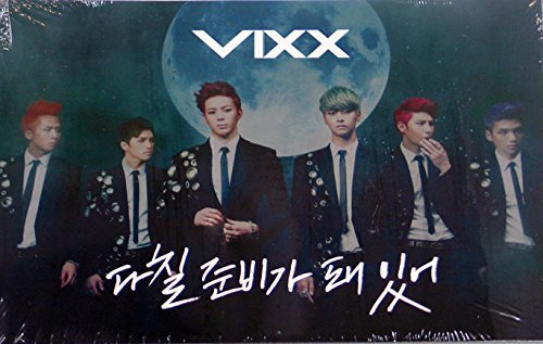 JellyFish Entertainment Vixx - On And On (3Rd Single Album) Cd + Photo Booklet + Book Mark + Extra Gift Photocards Set