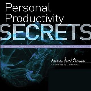 Personal Productivity Secrets audiobook cover art