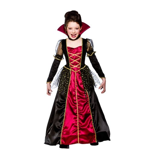 Vampire Princess Child's Halloween Fancy Dress Costume Size L 8-10 years (134-146cm)