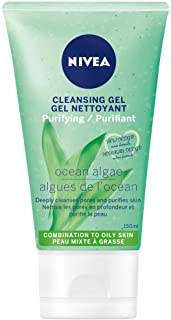 Nivea Refreshing Facial Cleansing Gel for Normal Skin (150ml), Cleanser for All Skin Types, Face Wash, A Simple Facial Was...