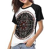 maichengxuan Shinedown Amaryllis Damen-T-Shirt, kurzärmelig, personalisierbar Gr. XXL, siehe abbildung
