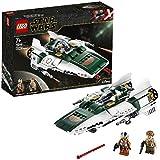 LEGO-Star Wars A-Wing Starfighter de la Résistance Jouet Enfant à Partir de 7 ans, 269 Pièces à Construire 75248