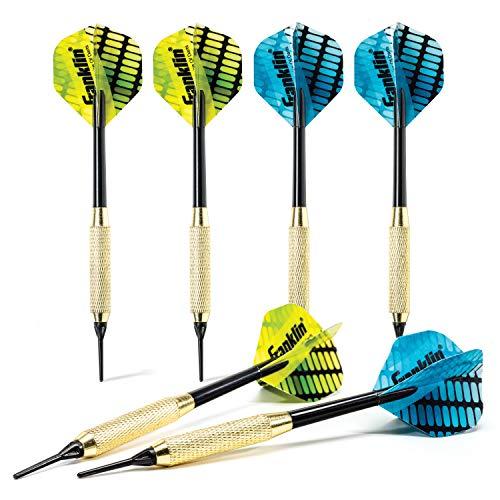Franklin Sports Soft Tip Darts Set - 6 Pack of 18...