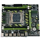 Easyeeasy X79 DDR3 Memory CPU Game Computer Motherboard Memory CPU Game Set E5 2630 2650 2660v2 Placa Base de la computadora