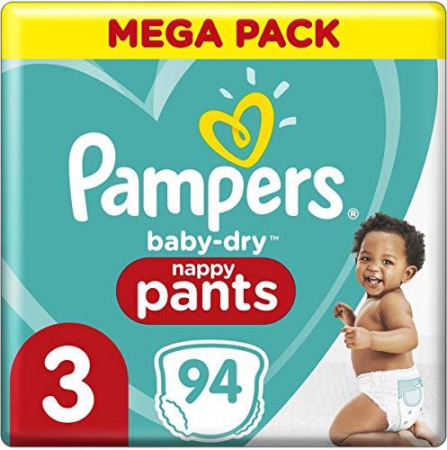Pampers 81714247 Baby-Dry Pants windelhose, weiß