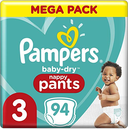 Pampers 81714247 Baby-Dry Pants windelhose, weiß