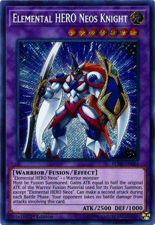 Yu-Gi-Oh! - Elemental Hero Neos Knight - BLHR-EN064 - Secret Rare - 1st Edition - Battles of Legend: Hero's Revenge