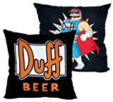 The Simpsons Duff Beer Cuscino birra Duff Cuscino peluche