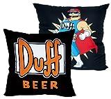 The Simpsons Duff Beer Kissen Duff Bier Kuschelkis