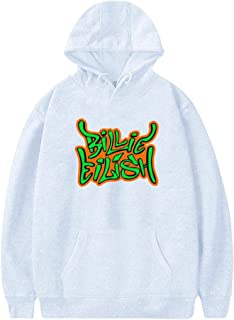 Billie Graffiti Women's Hoodie Pullover Hooded Print Long Sleeve Sweatshirt for Woman Casual Tops